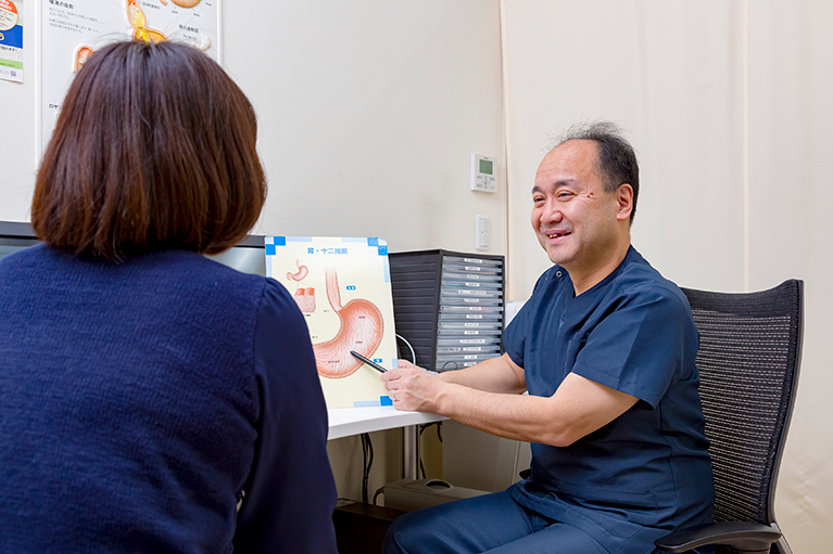 上部消化器内視鏡検査(胃カメラ)の概要説明